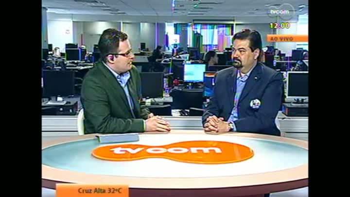 Candidato Wambert Di Lorenzo em entrevista à TVCOM