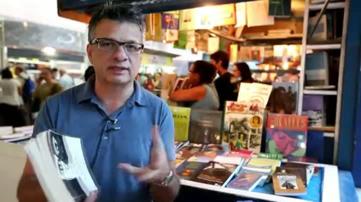 Zé Pedro Goulart dá dicas de leitura
