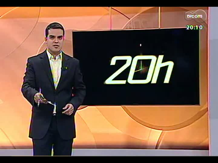 TVCOM 20 Horas - 02/01/13 - Bloco 2 - Secretário da Fazenda do RS projeta contas para 2013