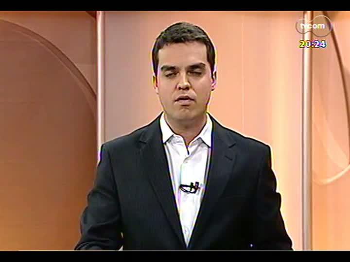 TVCOM 20 Horas - 08/01/13 - Bloco 3 - POA ganha mais um voo direto para Montevideu