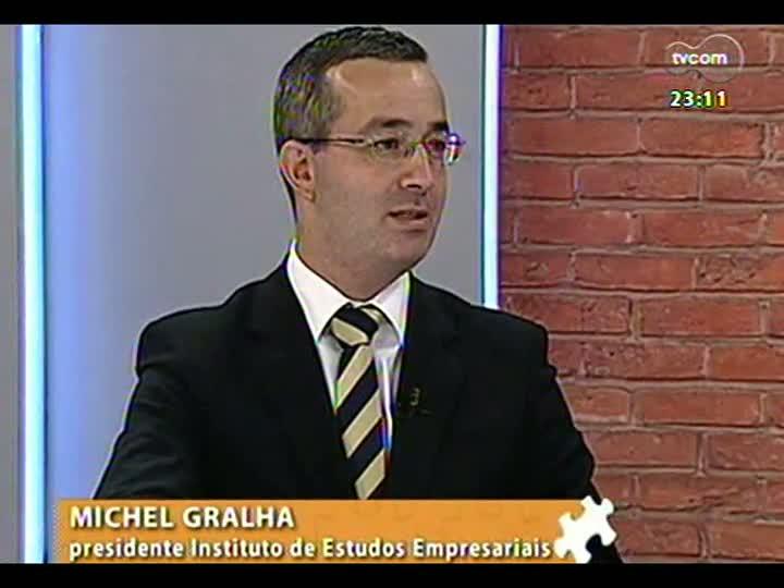 Mãos e Mentes - Presidente do Instituto de Estudos Empresariais, Michel Gralha - Bloco 2 - 17/03/2013