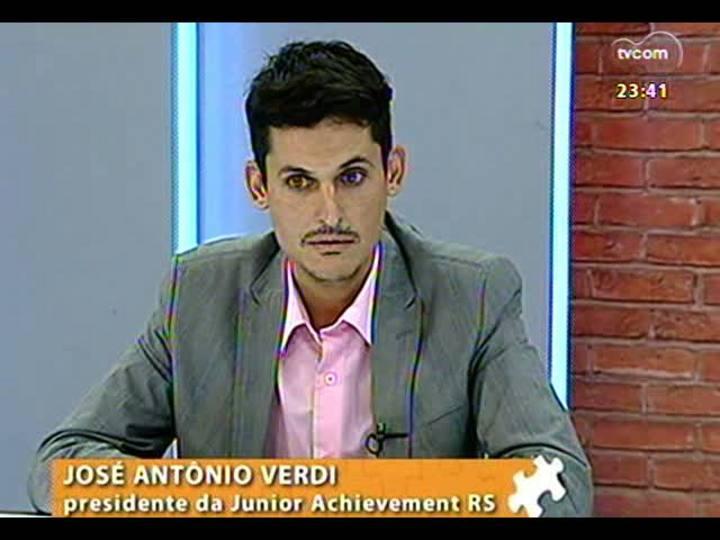 Mãos e Mentes - Presidente do Conselho Diretor da Junior Achievement/RS, José Antônio Verdi - Bloco 3 - 20/03/2013