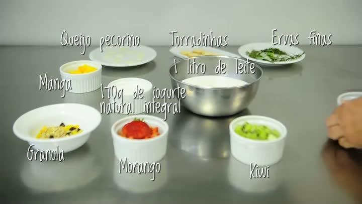 Aprenda a fazer iogurte grego em casa