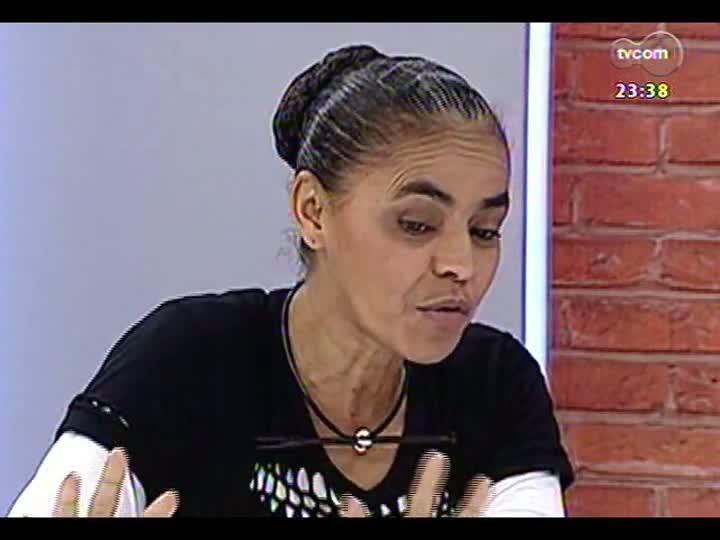 Mãos e Mentes - Ambientalista, ex-senadora do Acre e ex-ministra do Meio Ambiente, Marina Silva - Bloco 4 - 02/06/2013