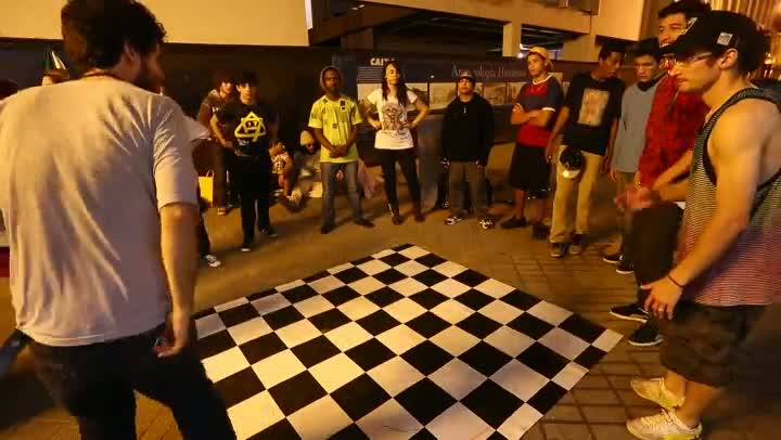 Cena de Break Dance renasce e agita ruas do Centro de Florianópolis