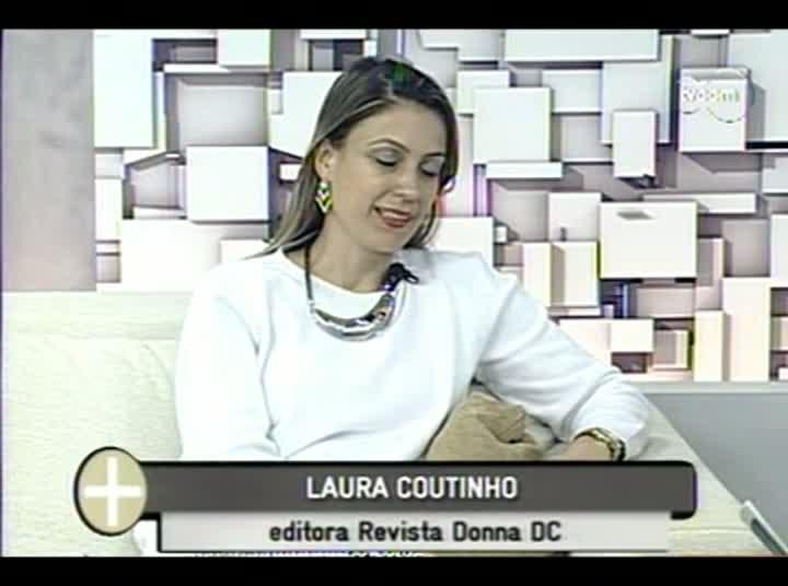 TVCOM Tudo Mais - Cadernos DC Donna Fashion - 3º Bloco – 28-08-2013