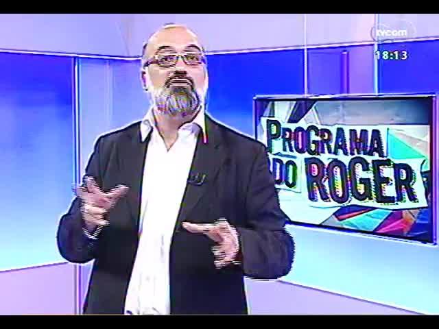 Programa do Roger - Entrevista com Ivete Sangalo sobre show em Porto Alegre - bloco 2 - 30/09/2013