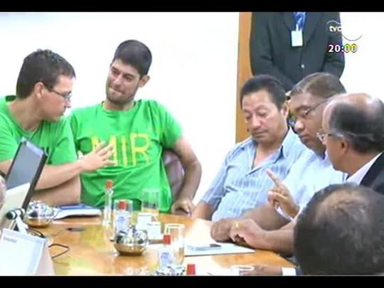 TVCOM 20 Horas - Rodoviários e donos de empresas de ônibus se aproximam de acordo - Bloco 1 - 03/02/2014