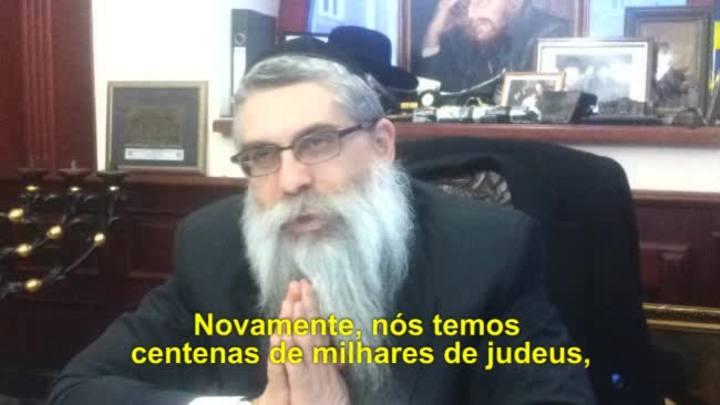 Rabino fala sobre a instabilidade na Ucrânia
