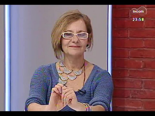 Mãos e Mentes - coordenadora do Coletivo Feminino Plural e jornalista Telia Negrão - Bloco 4 - 22/04/2014