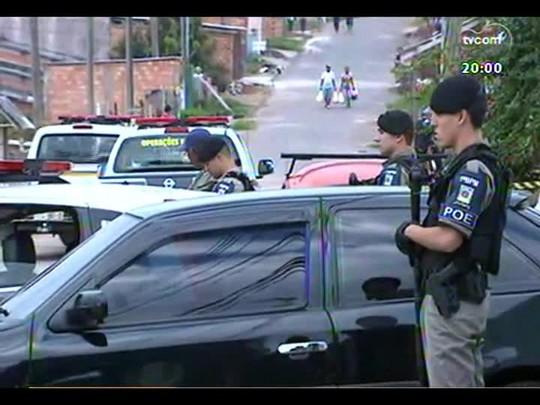 TVCOM 20 Horas - Disputa pelo comando do tráfico de drogas na Vila Cruzeiro assusta moradores - Bloco 1 - 23/04/2014