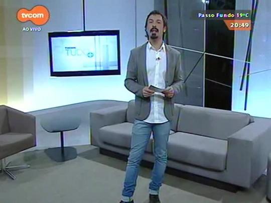 TVCOM Tudo Mais - Desafio Farroupilha: cantor nativista Cristiano Quevedo tem que aprender a trabalhar com o cavalo para aprender o tiro de laço