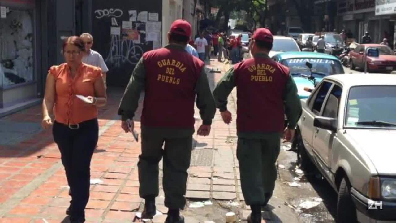 Repressão na Venezuela