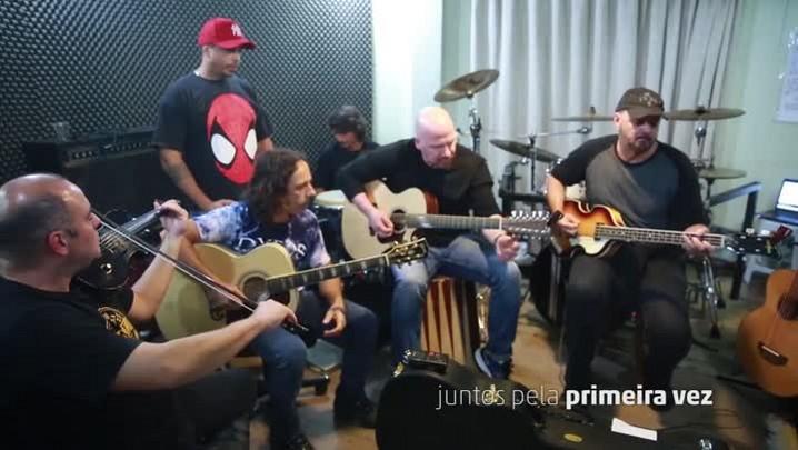 """Dazaranha e Expresso Rural tocam \""""Certos Amigos\"""""""