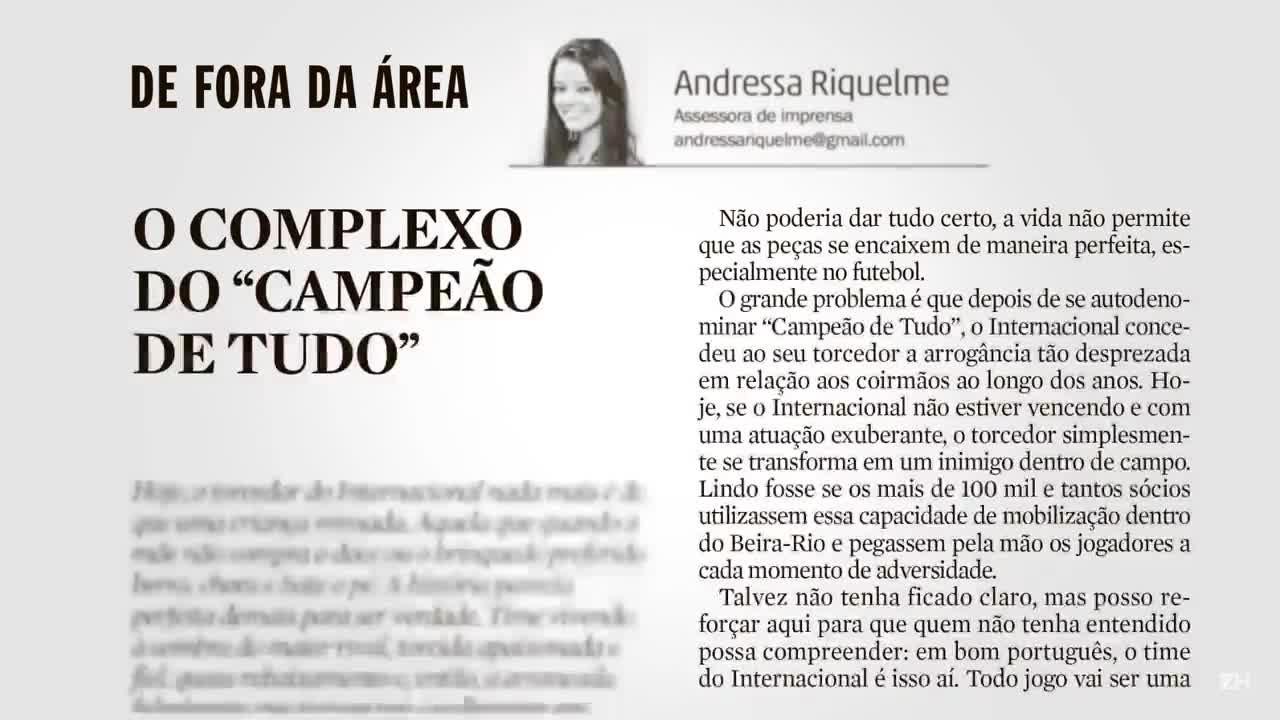 Vaias no Beira-Rio: torcida ou dirigentes mal-acostumados?