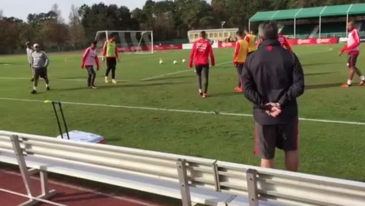 Não relacionados do Inter treinam na Flórida
