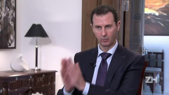 Assad apoia negociações enquanto combate terrorismo