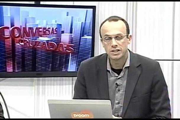 TVCOM Conversas Cruzadas. 3º Bloco. 06.06.16