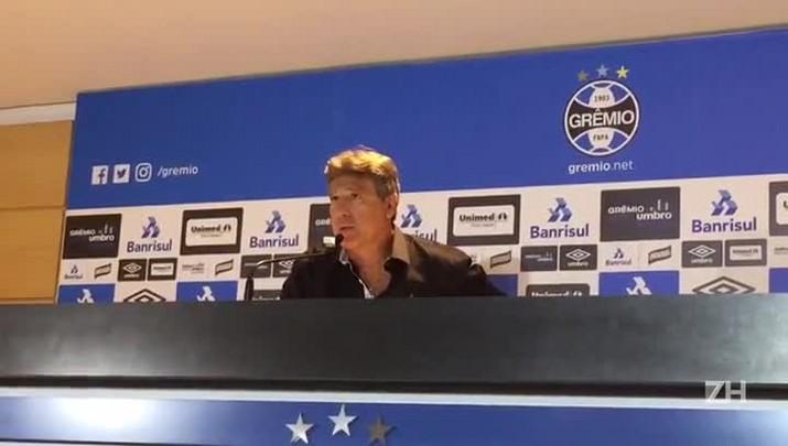 "\""Perdemos na hora certa\"", afirma Renato"