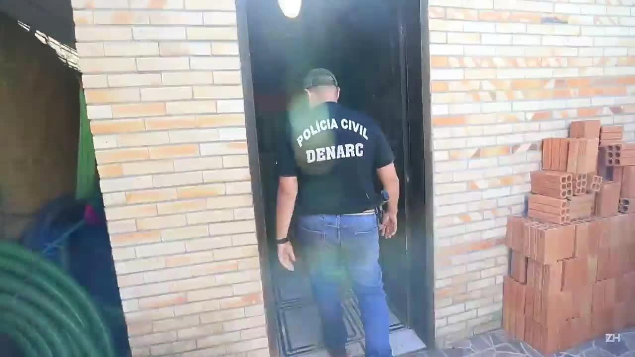 Polícia Civil lacra casa em que túnel era escavado para fuga de presos na Capital