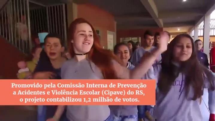 Escolas do RS premiadas em concurso contra a violência