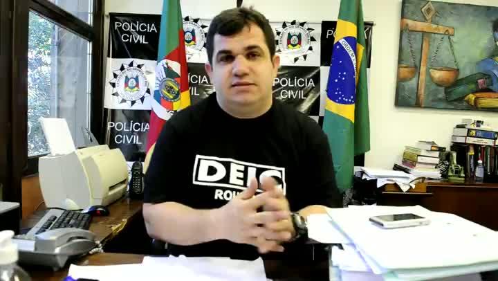 Delegado comenta vazamento de mandados de prisão contra assaltante de banco
