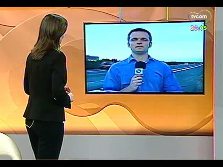TVCOM 20 Horas - 25/12/12 - Bloco 2 - O calorão e mais: entrevista com Mariza Abreu, ex-secretária de Educação