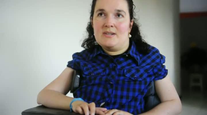 A garra da professora tetraplégica de Garopaba