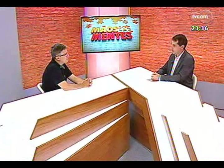 Mãos e Mentes - Membro da Academia Brasileira de Ciências, psiquiatra Flávio Kapczinski - Bloco 1 - 24/01/2013