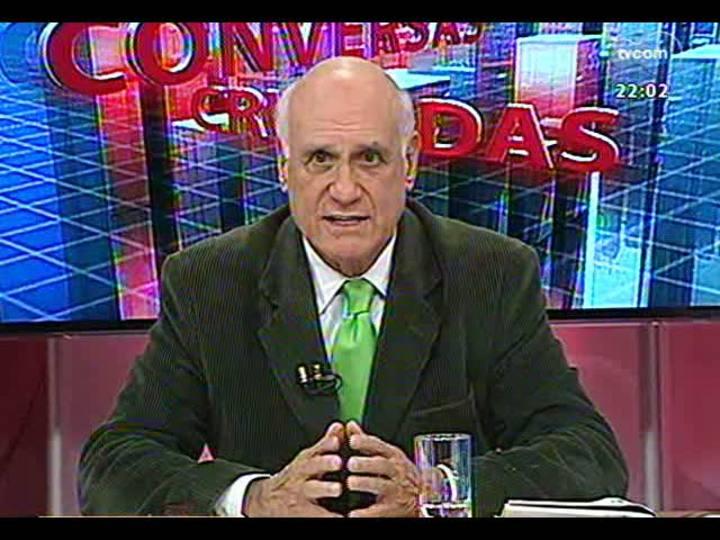 Conversas Cruzadas - As dificuldades para o metrô de Porto Alegre sair do papel - Bloco 1 - 16/04/2013