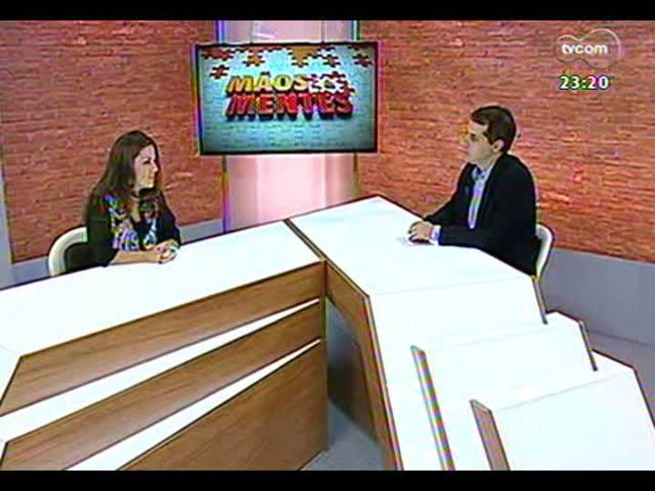 Mãos e Mentes - Professora, pesquisadora e doutora em Zootecnia Soraya Tanure - Bloco 1 - 18/04/2013