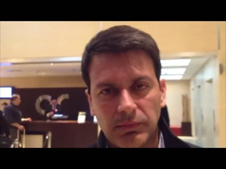Rui Costa comenta declaração polêmica do jogador do Santa Fe. 13/05/2013