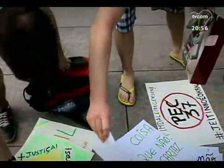 TVCOM Tudo Mais - Manifestações: confira o apoio dos brasileiros que estão na China
