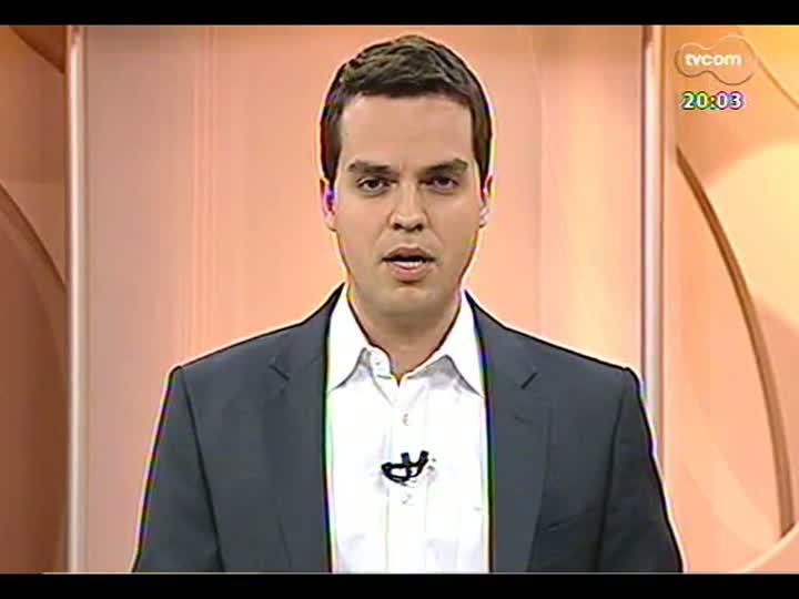 TVCOM 20 Horas - Informações sobre as cidades mais afetadas pela chuva - Bloco 1 - 26/08/2013