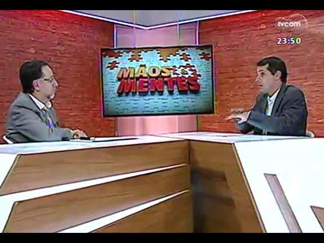 Mãos e Mentes - Flavio Pechansky, psiquiatra e diretor do Centro de Pesquisa em Álcool e Drogas da UFRGS - Bloco 2 - 03/10/2013