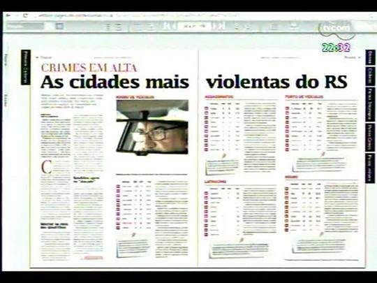 Conversas Cruzadas - O avanço dos crimes violentos e em cidades do interior do estado - Bloco 2 - 10/02/2014
