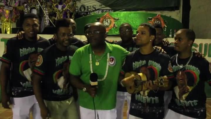 Samba-enredo da Restinga para o Carnaval 2014. 26/02/2014