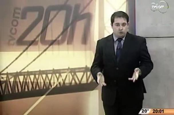 TVCOM 20 Horas - Reformas na s pontes de acesso a Florianópolis - 1º Bloco - 23/07/14