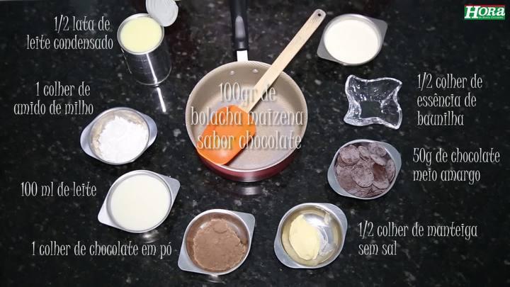 Kit Faz Tudo da Hora - Receita Torta de Bolacha