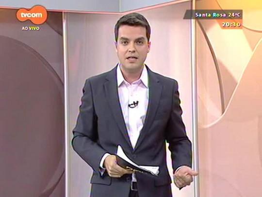 TVCOM 20 Horas - Direto de Brasília, as informações do Ministério da Saúde sobre o caso suspeito de ebola - Bloco 2 - 10/10/2014