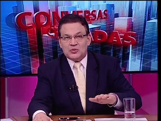 Conversas Cruzadas - O policial militar está inseguro por estar fardado dentro do ônibus? - Bloco 4 - 22/10/2014