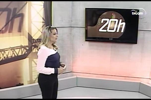 TVCOM 20 Horas - Empresa metalúrgica anuncia demissão em massa em Itajaí - 18.02.15