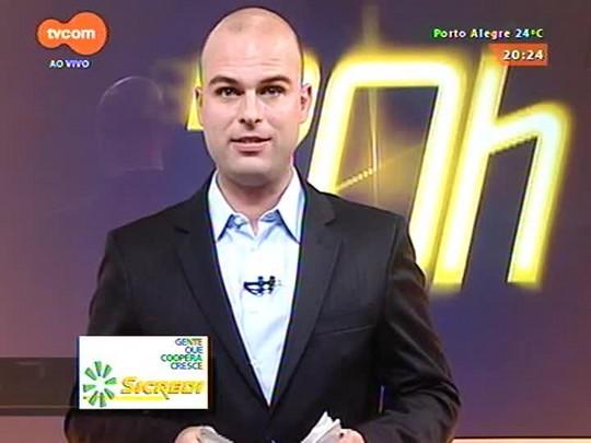 TVCOM 20 Horas - TRE dá liminar favorável que suspende provisoriamente a cassação de Gilmar Sossella - 30/03/2015