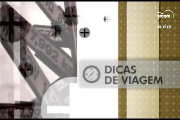 TVCOM Tudo+ - Dicas de viagem: catarinense faz volta ao mundo em uma bicicleta - 15.07.15