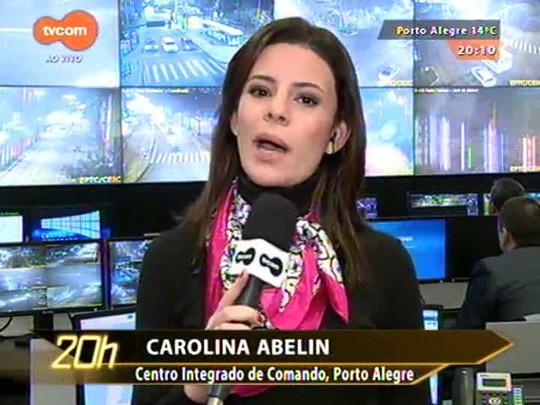 TVCOM 20 Horas - Cidades do estado contabilizam os estragos causados pelas chuvas - 21/07/2015