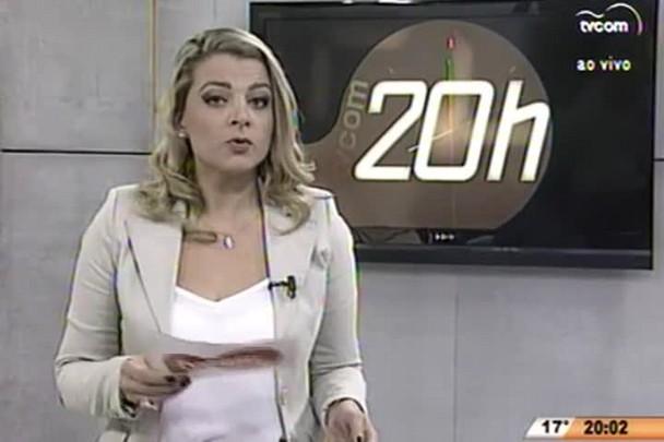 TVCOM 20 Horas - Operações no Sul do Estado prendem 28 pessoas por tráfico de drogas - 23.07.15