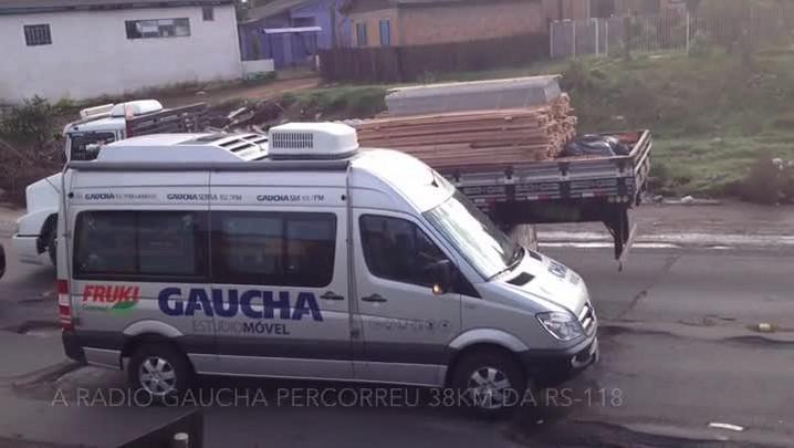 Blitz encontra 162 buracos na RS-118, entre Sapucaia do Sul e Viamão