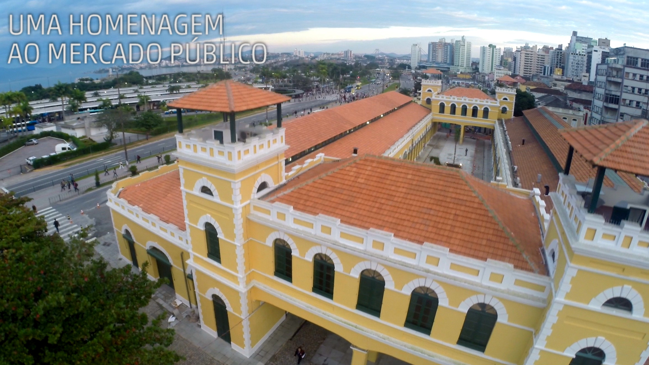 Homenagem ao Mercado Público de Florianópolis