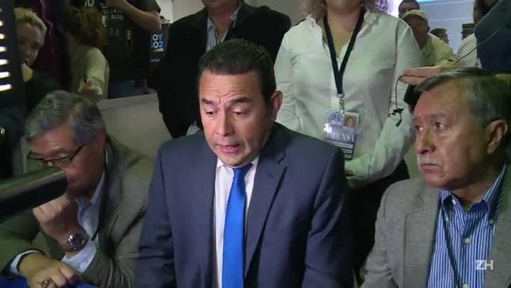 Comediante é favorito no segundo turno da eleição na Guatemala