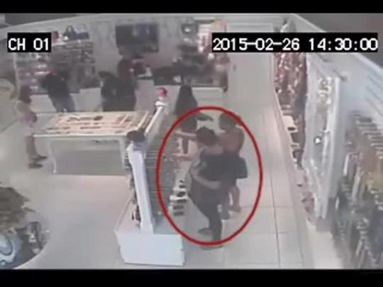 Dupla furta em loja do centro de Santa Maria